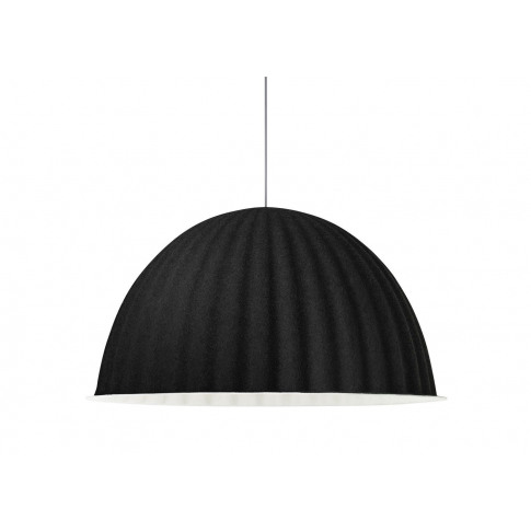 Muuto Under The Bell Pendant Light Black 82cm