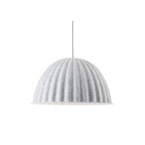 Muuto Under The Bell Pendant Light White Melange 55cm