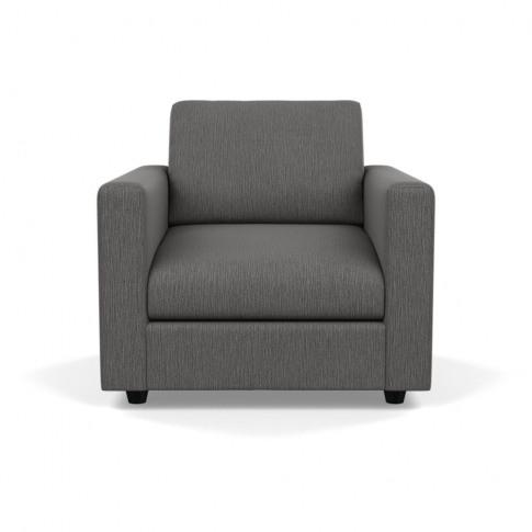 Heal's Nimbus Ii Armchair Smart Linen Mix Grey Black...