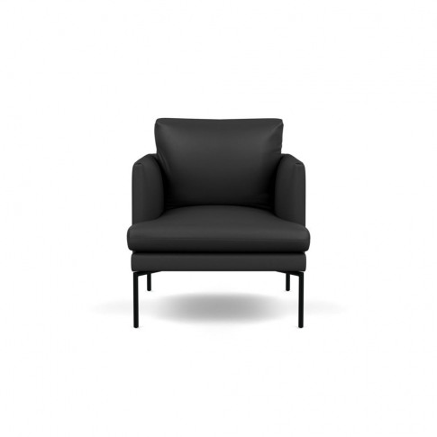 Heal's Matera Armchair Leather Hide Graphite 7181