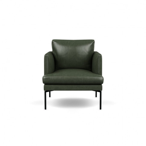 Heal's Matera Armchair Leather Stonewash Vintage Gre...