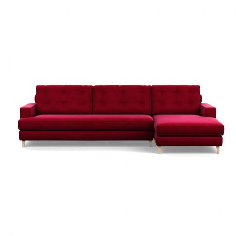 Heal's Mistral Right Hand Facing Corner Sofa Varese Velvet Mulberry Black
