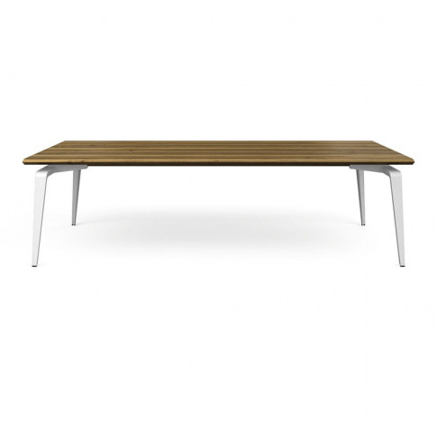 Ligne Roset Odessa Dining Table Natural Oak White Le...