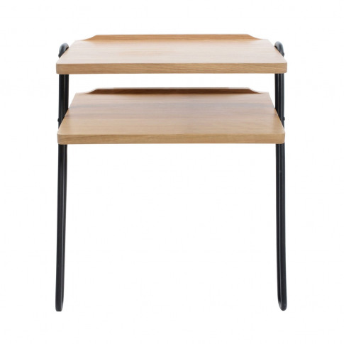 Heal's Brunel Lean-To Side Table Metal