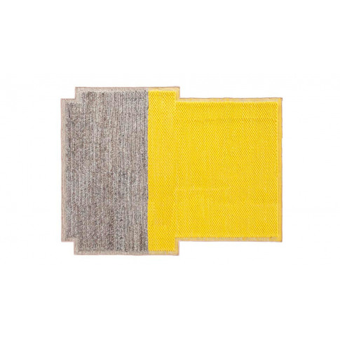 Gandia Blasco Mangas Plait Rug 190 X 250cm Yellow