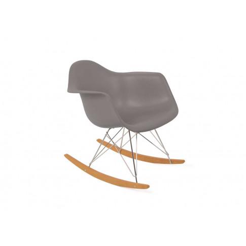 Vitra Eames RAR Rocking Chair Mauve Grey