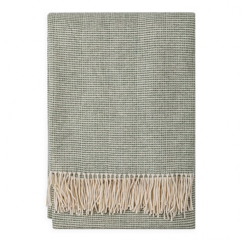 Heal's Baverstock Heritage Throw Bronze Green 150cm ...