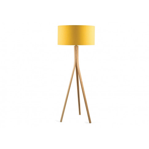 Heal's Baxter Wooden Floor Lamp Base Ash