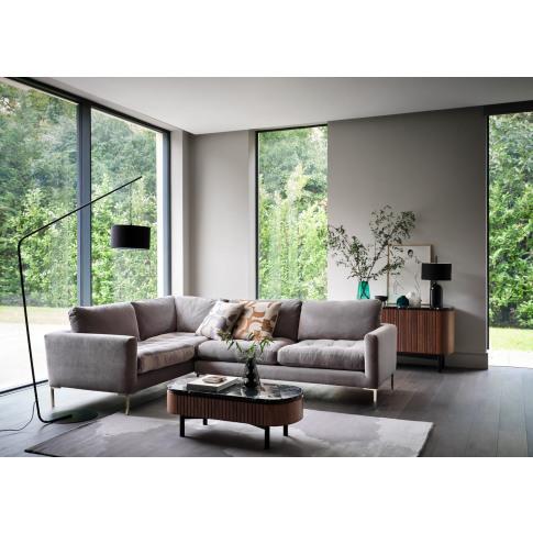 Heal's Eton Right Hand Facing Corner Sofa Smart Luxe...