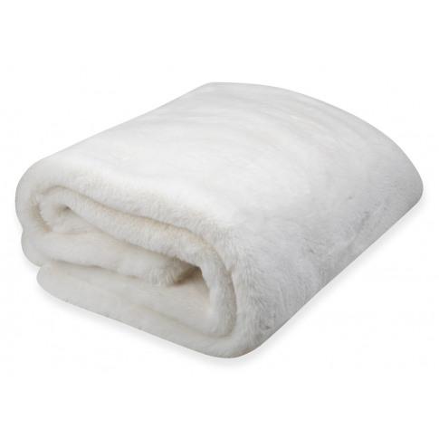 Heal's Faux Fur Throw Cream 130 X 180cm