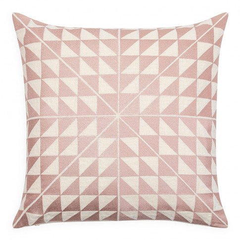 Geocentric Cushion Pink 50cm X 50cm