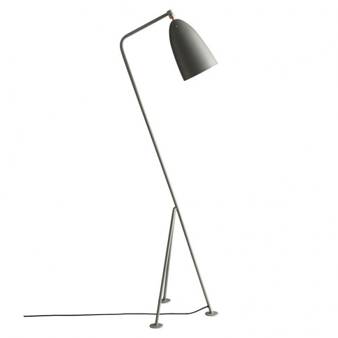 Gubi Gräshoppa Floor Lamp Blue Grey