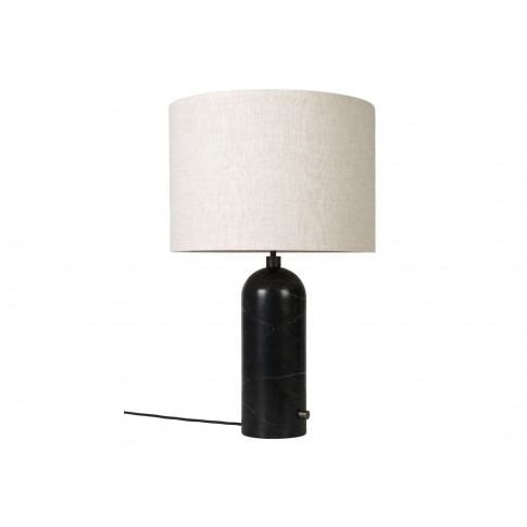 Gubi Gravity Table Lamp Large Blackened Steel Base C...