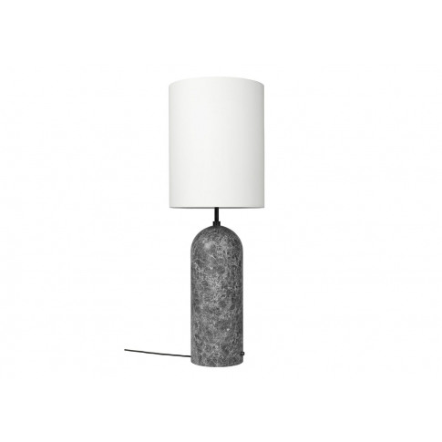Gubi Gravity Floor Lamp Xl High Grey Marble Base Whi...