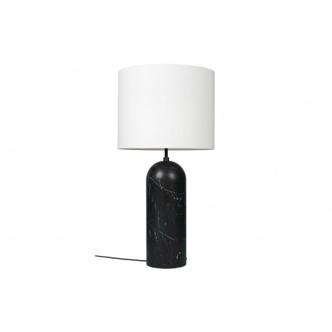 Gubi Fol19 Gravity Floor Lamp Xl Low Black Marble Ba...