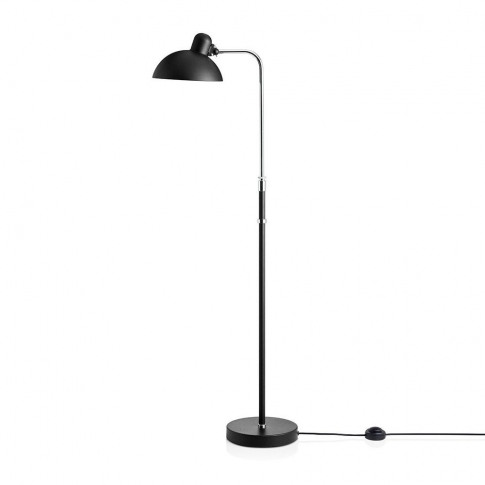Fritz Hansen Kaiser Idell Luxus Floor Lamp Matt Black