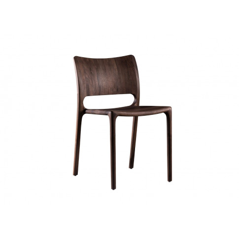 Artisan Latus Dining Chair Walnut Wooden Seat
