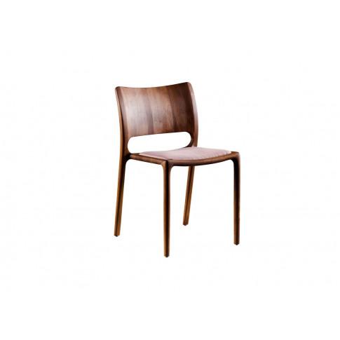 Artisan Latus Dining Chair Walnut Fabric Seat