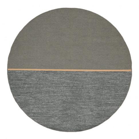 Linie Design Magnatized Round Rug Green Large