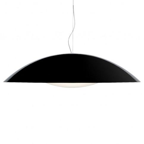 Kartell Neutra Pendant Light Black Circular
