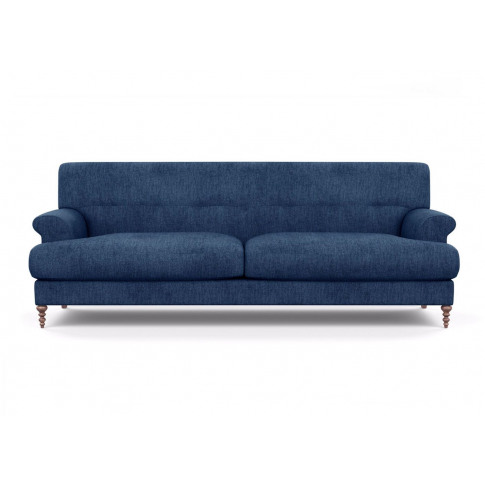 Scp Oscar Formal 3 Seater Sofa Velvet Grape