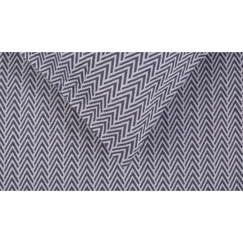 Heal's Herringbone Navy Standard Pillowcase