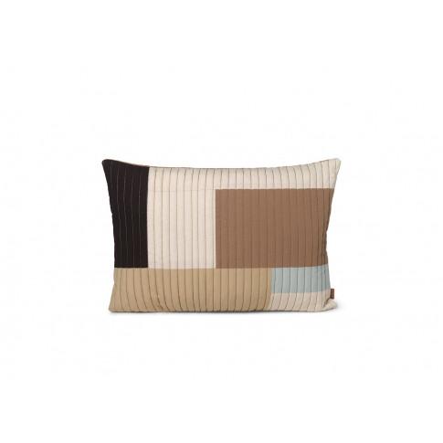 Ferm Living Shay Quilt Cushion Desert 60 X 40cm