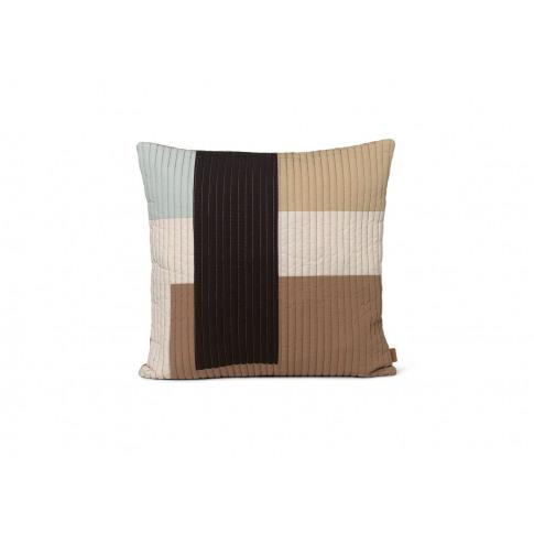 Ferm Living Shay Quilt Cushion Desert 50 X 50cm
