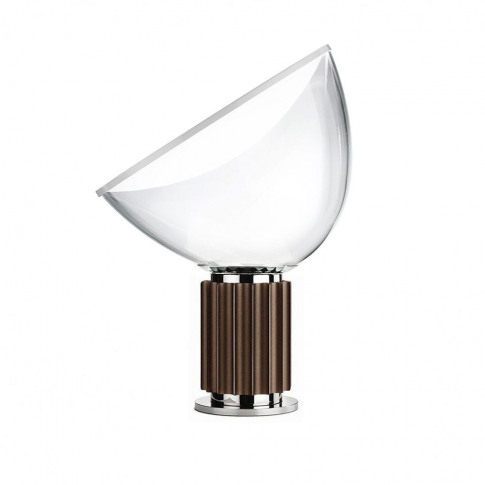 Flos Taccia Table Lamp Anodized Bronze Small