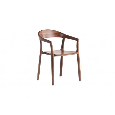 Artisan Tara Dining Chair Walnut Wooden Seat Walnut