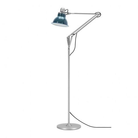 Anglepoise Type 1228 Floor Lamp In Ocean Blue