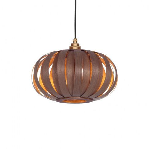 Tom Raffield Urchin Pendant Light Small Walnut