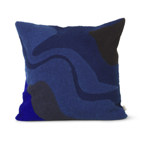 Ferm Living Vista Cushion Dark Blue