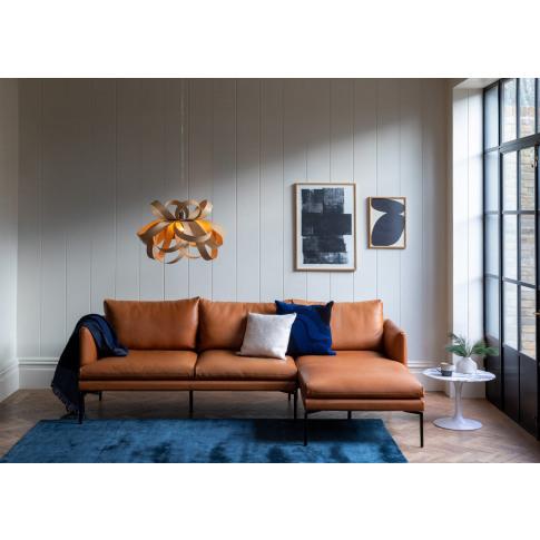 Heal's Matera Corner Chaise Sofa Right Hand Facing S...