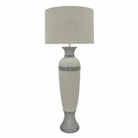 Alghero Cream Oval Table Lamp