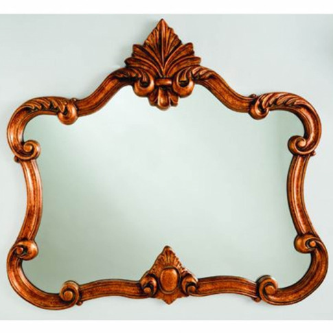 Antique French Style Gold Decorative Wall Mirror