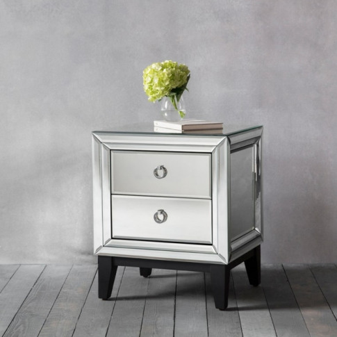 Aster 2 Drawer Side Table