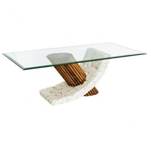 Bamby Mactan Stone Coffee Table