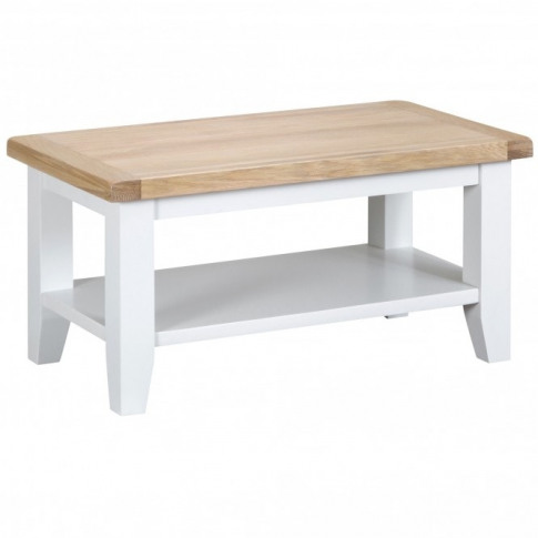 Bisbee White Small Coffee Table
