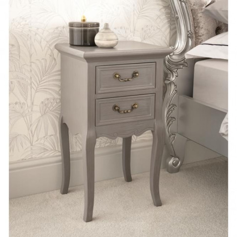 Etienne Antique French Style Bedside Table