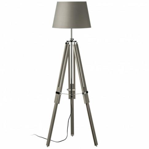 Grey Jasper Floor Lamp