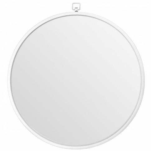 Jacen Round Wall Mirror - Silver