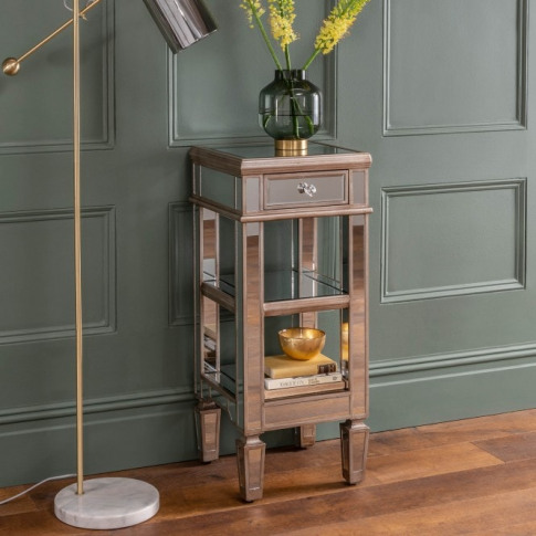 Marseille One Drawer Side Table