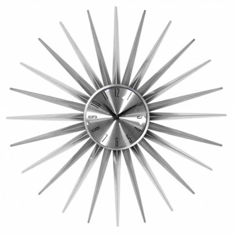 Modern Spike Wall Clock