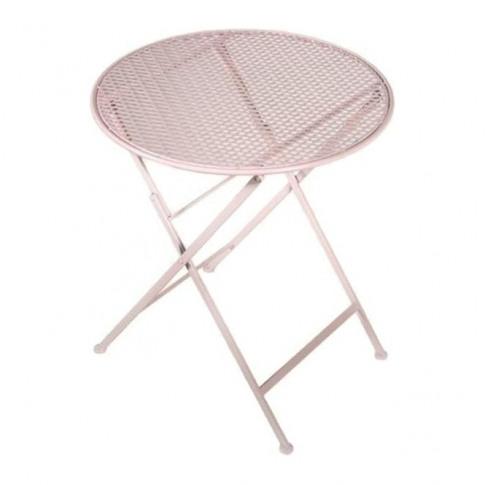 Pink Garden Table