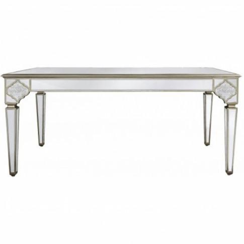 Sassari Mirrored Dining Table