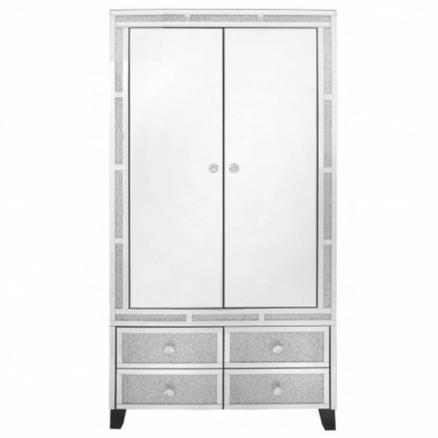Siena Mirrored Wardrobe