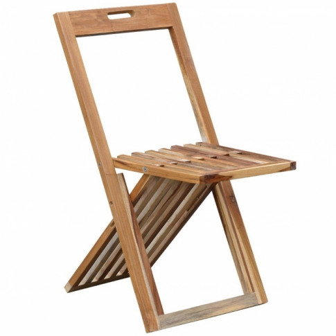 Slim Folding Garden Chair