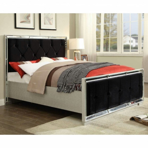 Sofia Mirrored Bed