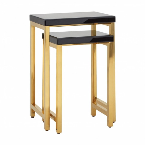 Townhouse Tempered Glass Nest Of Tables